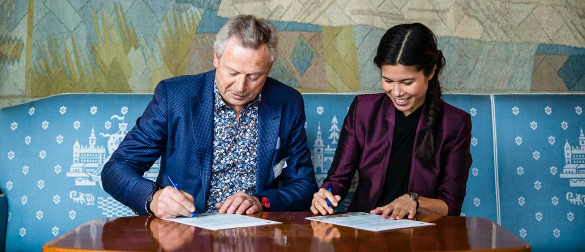 Ragn-Sells partner til Næring for klima.