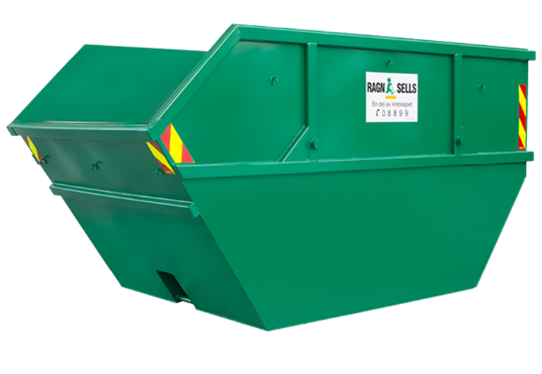10m3 åpen liftcontainer